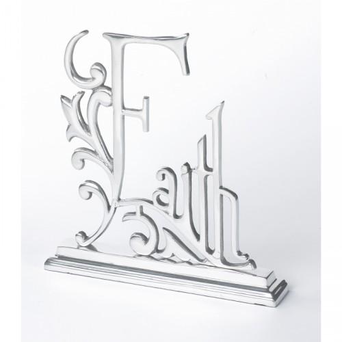 Faith Mantle Sign