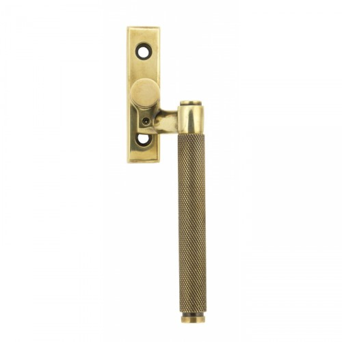 Aged Brass Espag Window Handle - Right Handed