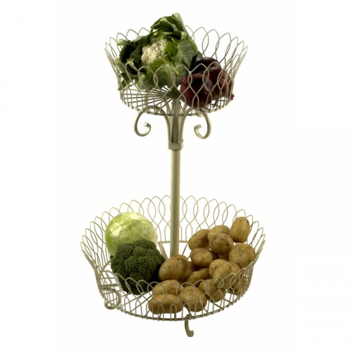 Provence Two Tier Vegetable Rack