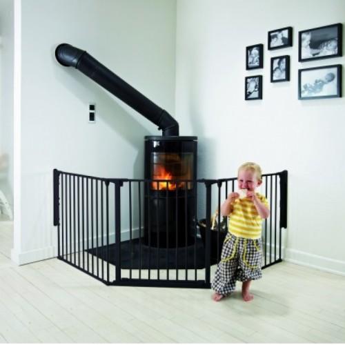 Baby Dan Fireguard in Situ