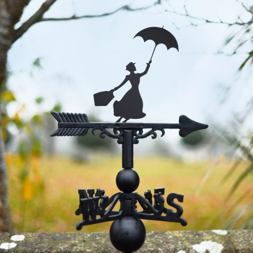 Classic Mary Poppins weathervane