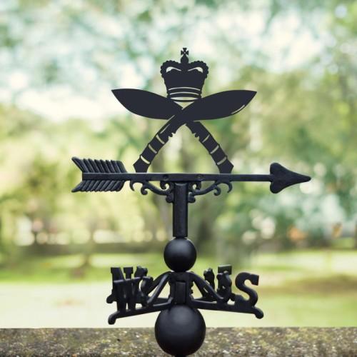 Royal Gurkha Rifles Regiment  Weathervane in Situ Outside