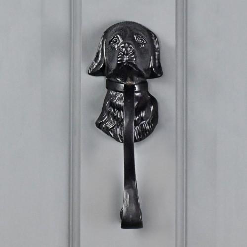 Black Dog Door Knocker