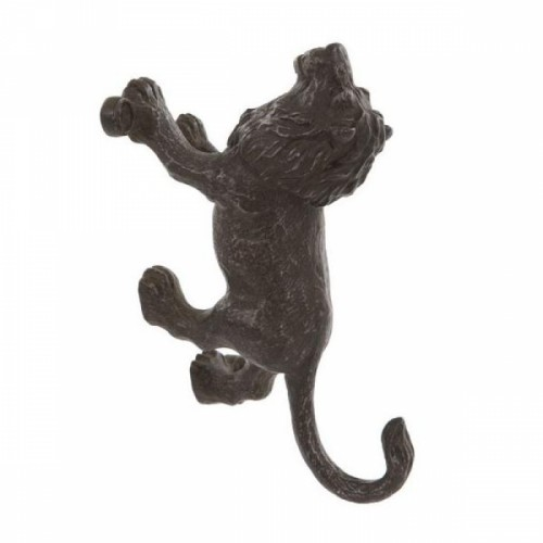 Black Lion Wall Mounted Hook