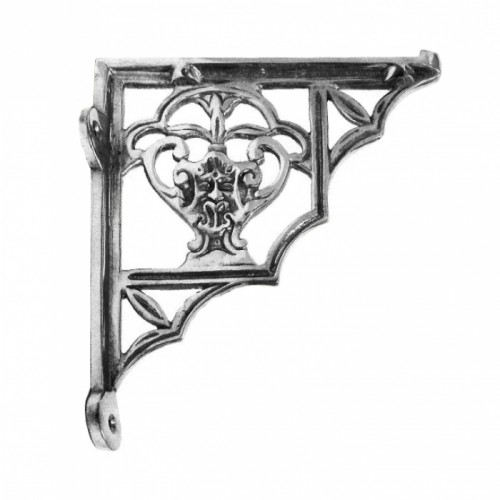 Bright Chrome shelf bracket