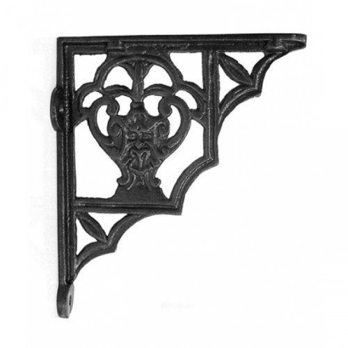 Iron Shelf Bracket 19cm x 16cm