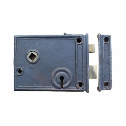 Rim Lock Created From Cast Iron