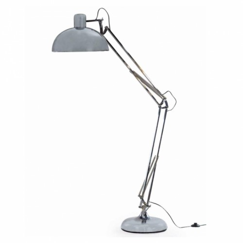 Classic Design Extra Large Floor Lamp in a Chrome Finish