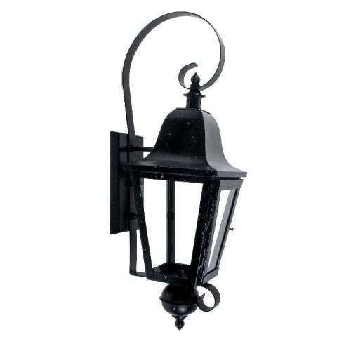"""Cleobury"" Wall Lantern In Black"
