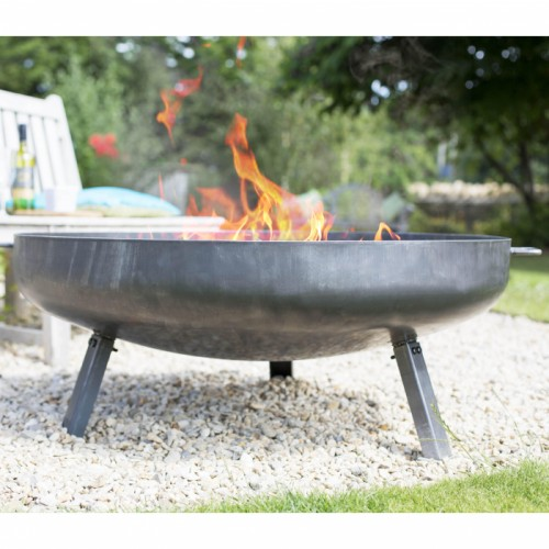 100cm Contemporary Firepit Created from Steel