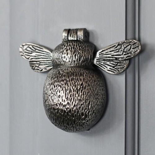 Bumblebee solid brass front door knocker