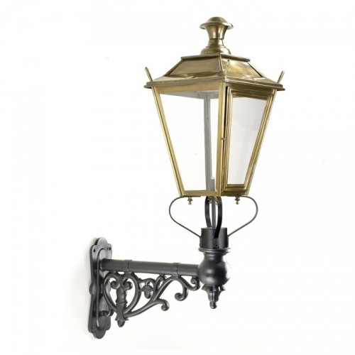 Dorchester Brass Lantern on Ornate Capella Bracket