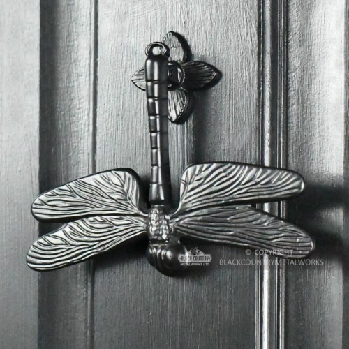 Dragonfly Door Knocker - Cast Iron