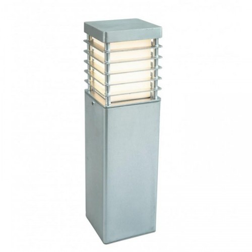 Heavy Duty Low Level Bollard Lights Created Out of a Galvanised Steel