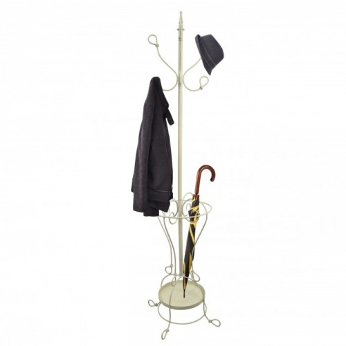 """Cream """"Parker"""" Hat & Coat Stand in Use"""