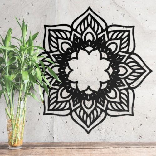 Mandela Wall Art in Situ Amongst Plants