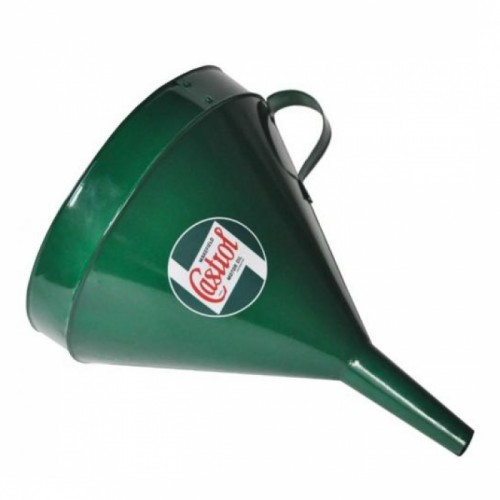 """Castrol"" Oil Funnel Finished in Green"