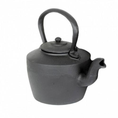 Large Cast Iron Decorative Kettle