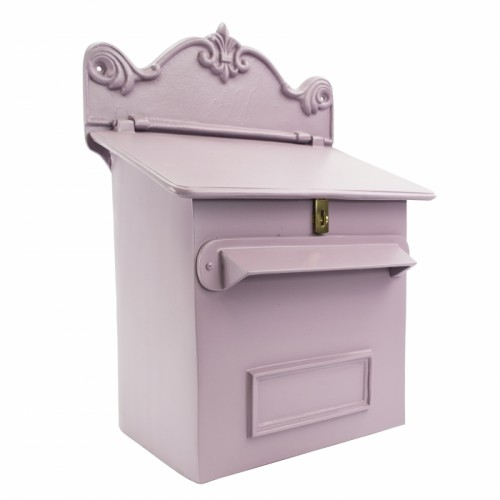 Savannah Sunset Pink Goldhay Secure Post and Parcel Box
