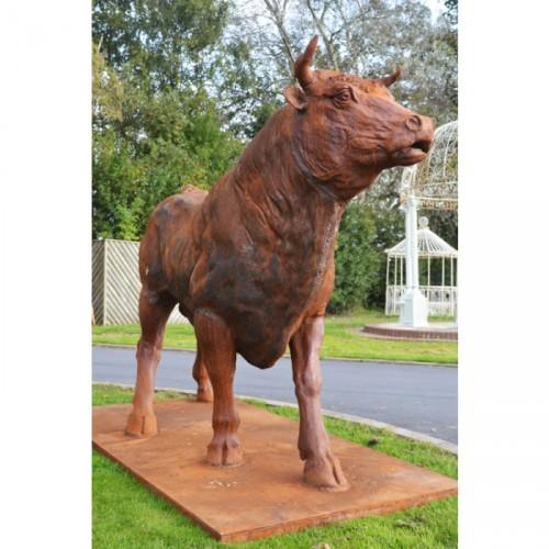 life size bull