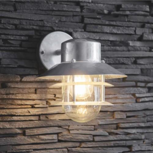 Galvanised Steel Coastal Wall Light