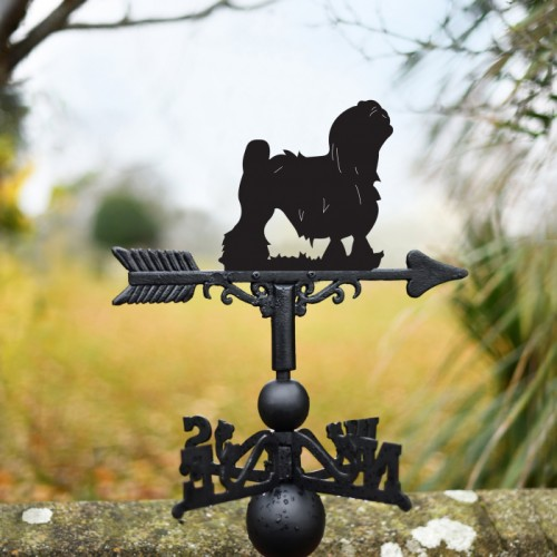Lowchen Dog Weathervane