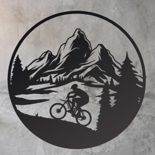 Mountain Bike Wall Art