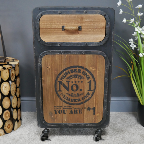 """""""No 1"""" Industrial Bedside Cabinet in the Home"""