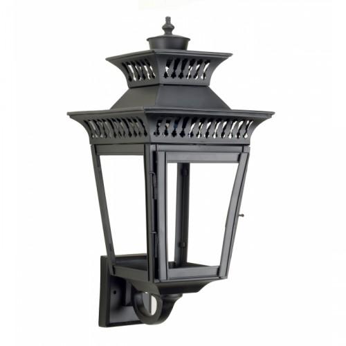 Yorkshire wall mounted black wall lantern