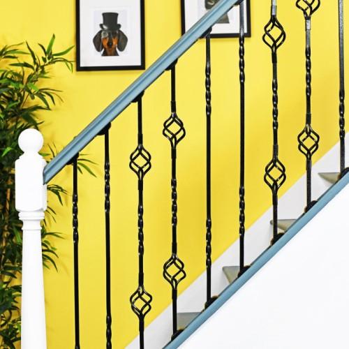 """Cavendish"" Set of 4 Alternating Stair Spindles - Pattern 10"