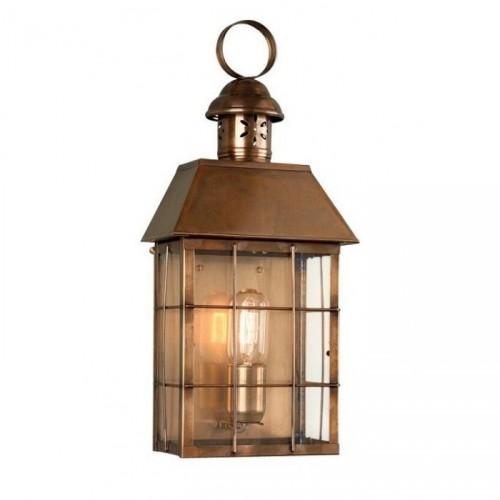 """Tawsden Cove"" Search Light Wall Lantern in Antique Brass"