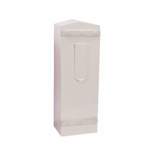 """Royal Bellman"" Cream High security, letter box for Security Gates and Fencing"