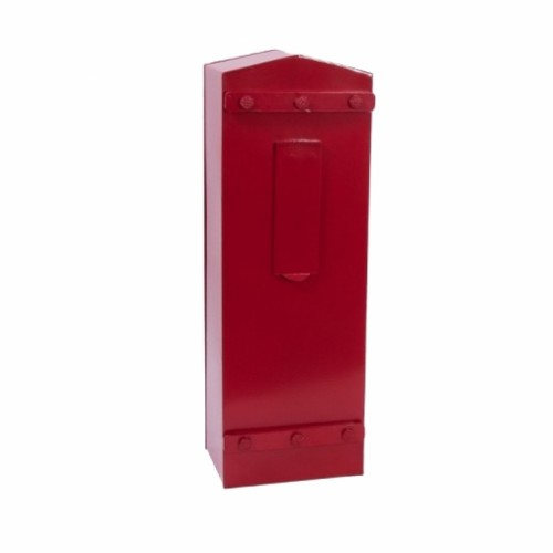 """Royal Bellman"" Red High security, letter box for Security Gates and Fencing"