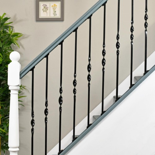 Single Bold Twist Stair Spindles