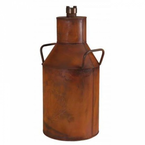 "Traditional ""Shell"" Milk Churn in a Rustic Finish"