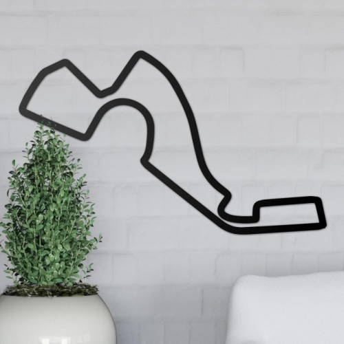 Sochi Motor Circuit Wall Art