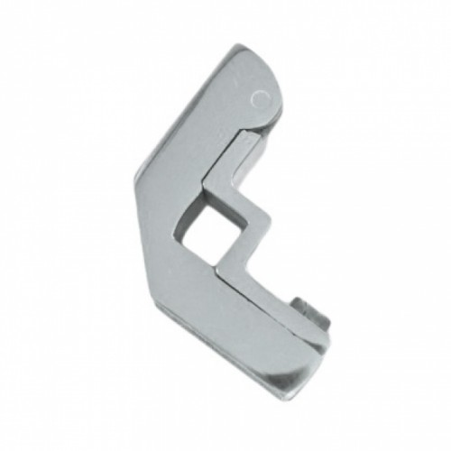 Bright Chrome Hinged Square Stair Bracket - 9mm
