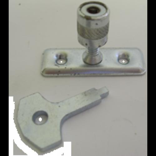 Casement Stay Locking Pin zinc plate