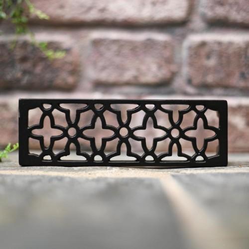 Flower Design Cast Iron Air Brick