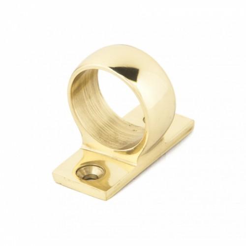 Sash Eye Lift Bright Polished Brass