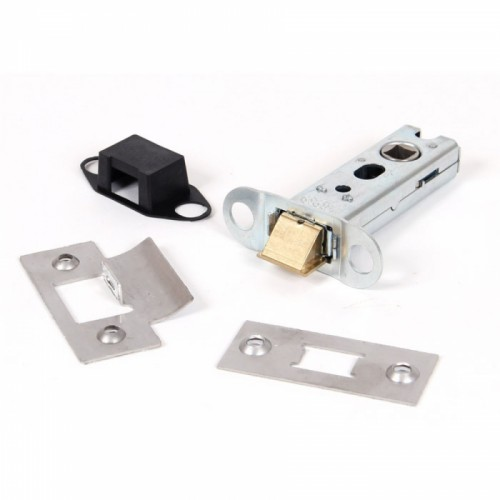 "Satin Stainless Steel Heavy Duty Latch - 3"" Main View"