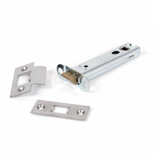 "Satin Stainless Steel Heavy Duty Latch - 4"" Main View"