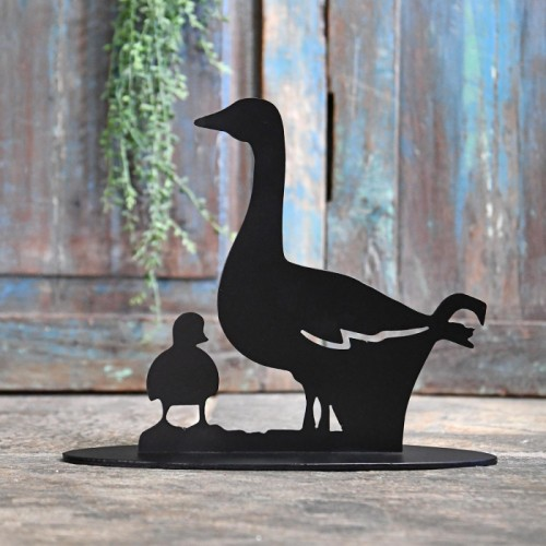Duck Door Stop Created Out of Iron