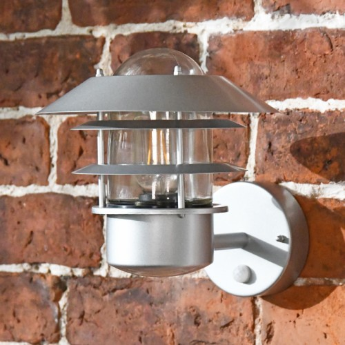 """Skyline"" Contemporary Wall Light with PIR Sensor"