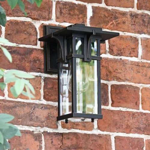 Art Deco Bronze Wall Light