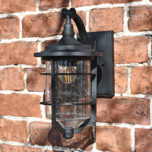 Nautical Hanging black lantern perfect for porch