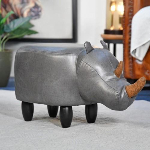 Ruby the Rhino Foot Stool