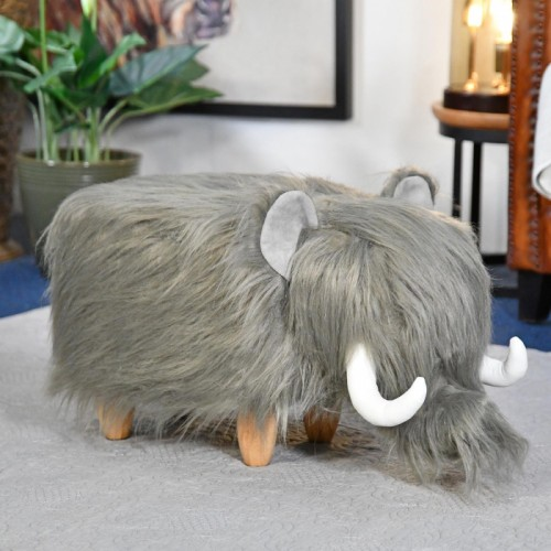 Wilma the Woolly Mammoth Foot Stool