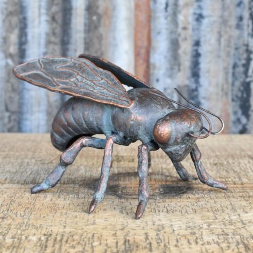 Cast iron Honey bee sculpture