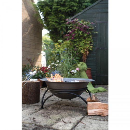 Cast Iron Trevena Fire Bowl Main View